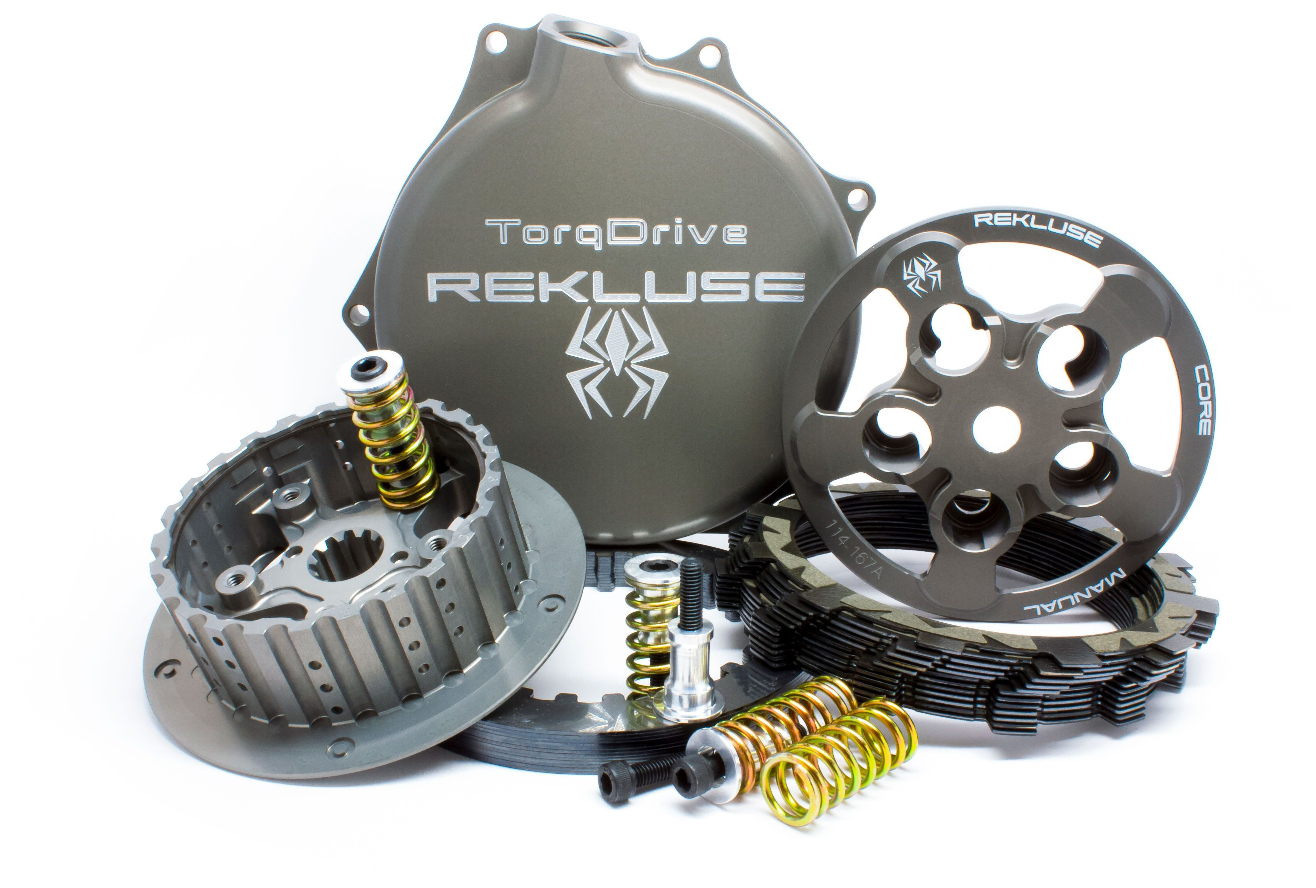 Rekluse Core Manual Torq Drive Clutch Kit Honda CRF450R / CRF450RX  2017-2018 - RevZilla