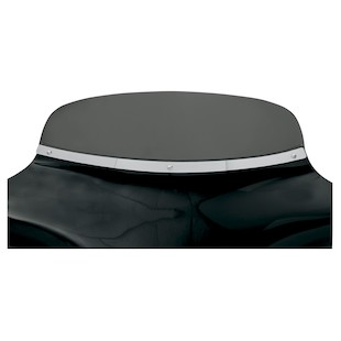 Memphis Shades Batwing Fairing Windshield Trim Solid Fat / Polished [Previously Installed]