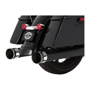 Paul Yaffe Cult 45 Crown Slip-On Mufflers For Harley Touring 2017