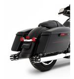 """Rinehart 4"""" Castle Slip-On Mufflers For Harley Touring"""