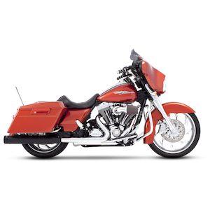 """Rinehart 4"""" Slip-On Mufflers For Harley"""