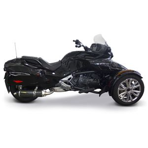 Two Brothers S1R Black Series Slip-On Exhaust Can-Am Spyder F3-T 2016