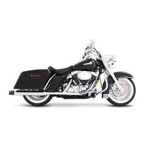 """Rinehart 3 1/2"""" Castle Slip-On Mufflers For Harley Touring 1995-2009"""