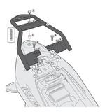 Givi SR3103 Monolock Top Case Rack Suzuki GW250