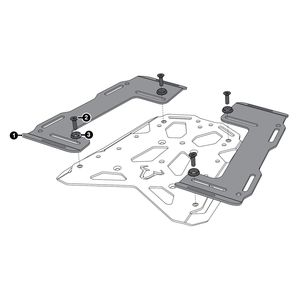 SW-MOTECH Steel-Rack Expansion Plates