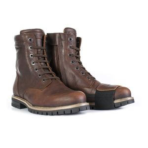 Brown, Size: US-10, EU-43 Stylmartin Mens Rocket Caf/è Racer Motorcycle Boots