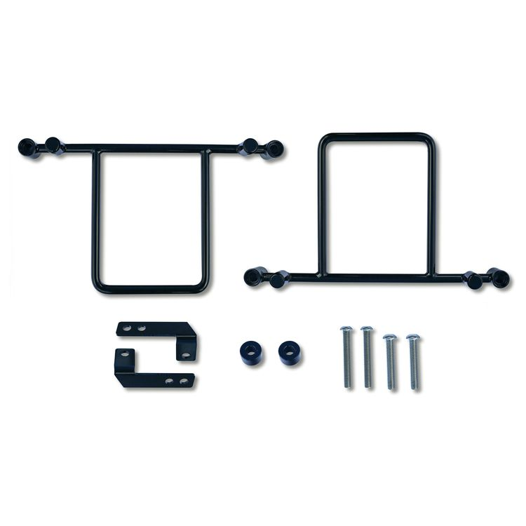 Burly Saddlebag Support Brackets For Harley