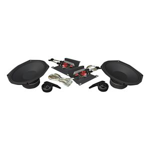 """Wild Boar By Hogtunes 6"""" x 9"""" 250 Watt Speakers For Harley Touring 2014-2018"""