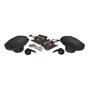 """Wild Boar By Hogtunes 6"""" x 9"""" 250 Watt Speakers For Harley Touring 2014-2017"""