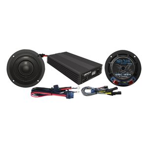 "Wild Boar By Hogtunes 6.5"" Speakers & 400 Watt Amp Kit For Harley Touring 2014-2018"