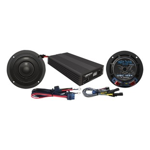 "Wild Boar By Hogtunes 6.5"" Speakers & 400 Watt Amp Kit For Harley Touring 2014-2018"