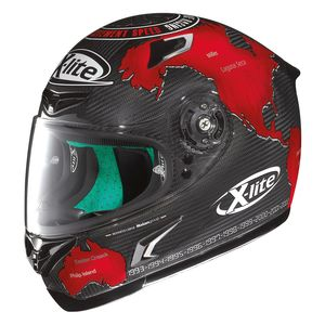 X-Lite X-802RR Ultra Carbon Checa Replica Helmet