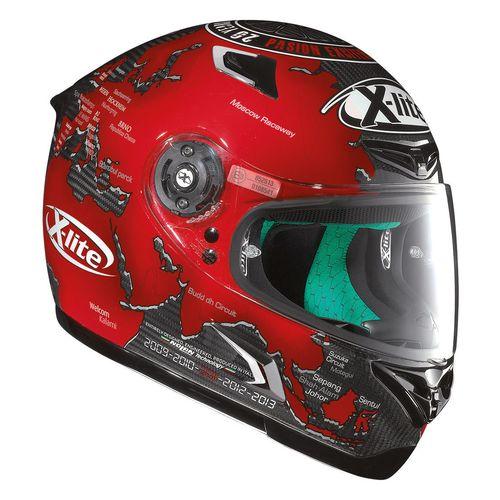 x lite x 802rr ultra carbon checa replica helmet revzilla. Black Bedroom Furniture Sets. Home Design Ideas