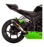 Hotbodies Racing MGP Slip-On Exhaust Kawasaki Ninja ZX6R 2009-2012