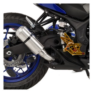 Hotbodies Racing MGP2 Slip-On Exhaust Yamaha R3 2015-2017