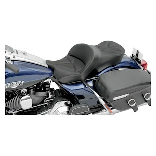 Saddlemen Explorer G-Tech Seat For Harley Touring 1997-2007 Black / Without Driver Backrest [Previously Installed]