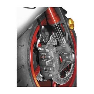 Galfer Superbike Brake Line Suzuki GSXR 1000 2009-2011 Black/Silver [Previously Installed]