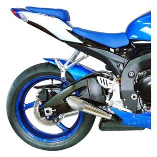 Hotbodies Racing Megaphone Slip-on Exhaust Suzuki GSXR 600 / GSXR 750 2008-2010