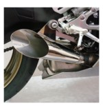 Hotbodies Racing Megaphone Slip-on Exhaust Yamaha R6 2006-2016