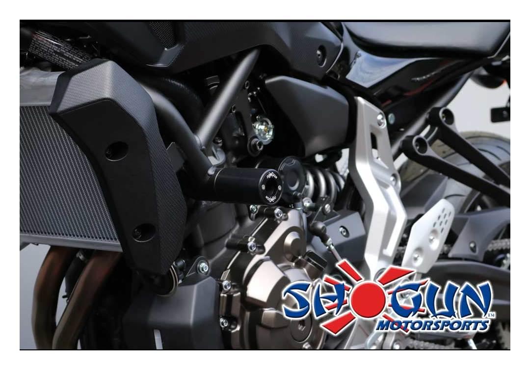 OES Frame Sliders Yamaha FZ-07 FZ07 MT-07 2015 2016 2017 2018 2019 No Cut Red