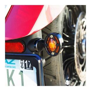 Joker Machine Turn Signal / Marker Light Adapter Plates For Indian Scout 2015-2018