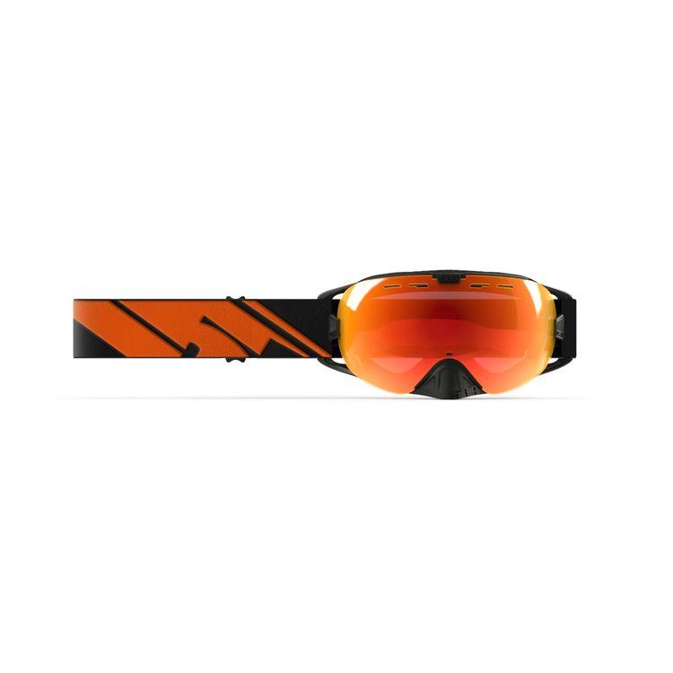 Black Fire/Photochromatic Orange to Blue/Fire Mirror