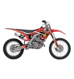 Factory Effex Complete Rockstar Graphics Kit Honda CRF450R 2017