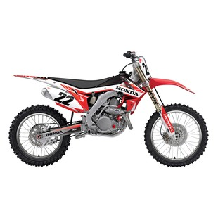 Factory Effex EVO 14 Shroud / Airbox Graphics Kit Honda CRF450R 2017