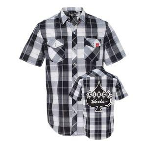 Klock Werks Plaid Shop Shirt