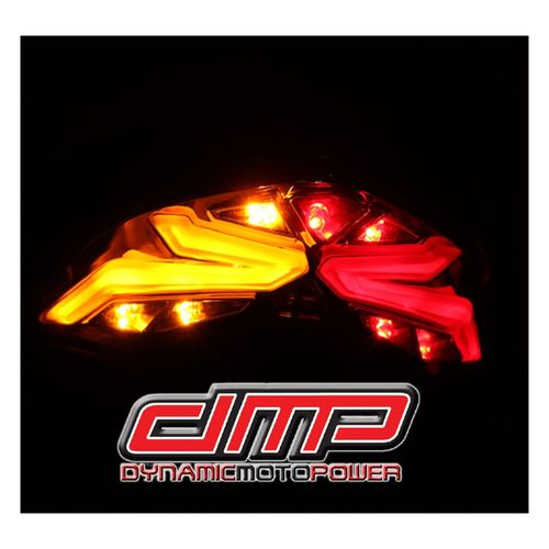 dmp powergrid integrated tail light ducati monster 821 / 1200 / s