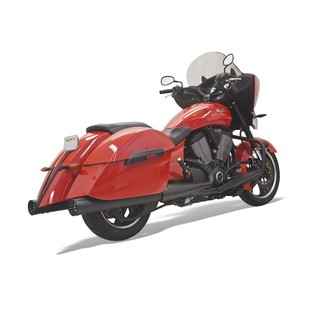 "Bassani 4"" DNT Slip-On Mufflers For Victory 2010-2016"