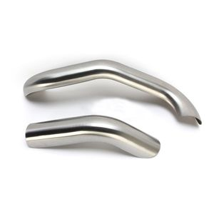 Bassani Road Rage III 2-Into-1 Exhaust Heat Shields For Harley Dyna 1991-2017