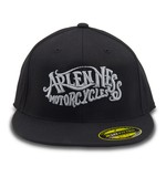 Arlen Ness Caligraphy Flex Fitted Hat