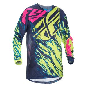 Fly Racing Dirt Youth Kinetic Mesh Relapse Jersey