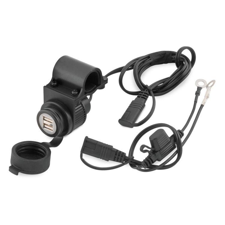 BikeMaster Dual USB Charger with Handlebar Mount