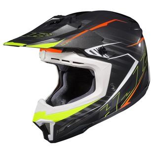 HJC CL-X7 Blaze Helmet Black/Hi-Viz Yellow / 4XL [Blemished - Very Good]