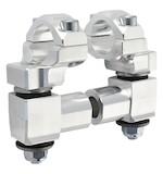 """Rox Anti-Vibration Elite 2"""" Pivot Risers for 1 1/8"""" Handlebars Aluminum [Open Box]"""