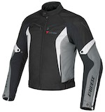Dainese Crono Textile Jacket Black/Grey/White / 46 [Demo - Good]