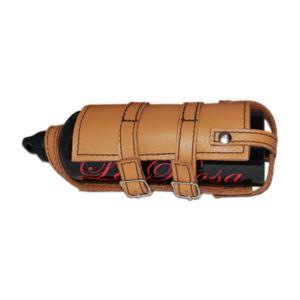 La Rosa Leather Fuel Bottle Holder
