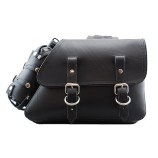 La Rosa Throw-Over Saddlebags With Fuel Bottle Holders