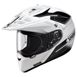 Shoei Hornet X2 Seeker Helmet White/Black / 2XL [Demo - Good]