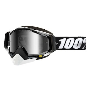 100% Racecraft Snow Goggles - Mirrored Lens