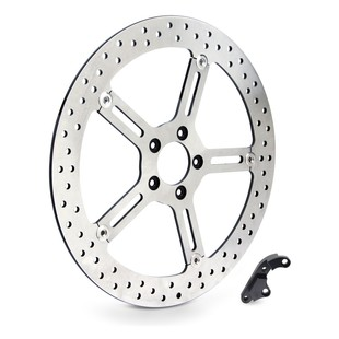 "Arlen Ness 15"" Big Brake Front Rotor For Harley Dyna / Softail 2000-2005"