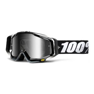 100% Racecraft Goggles - Mirrored Lens