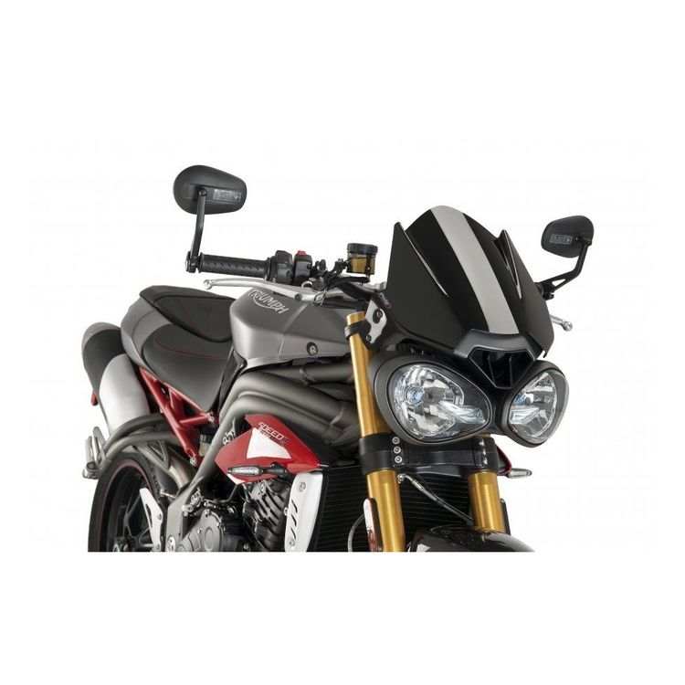 Puig Naked New Generation Windscreen Triumph Speed Triple Street