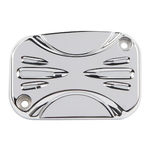 Arlen Ness Deep Cut Hydraulic Clutch Master Cylinder Cover For Harley Touring 2014-2016 Chrome [Open Box]