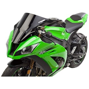 Hotbodies Venom Windscreen Kawasaki ZX10R 2011-2015 Black [Previously Installed]