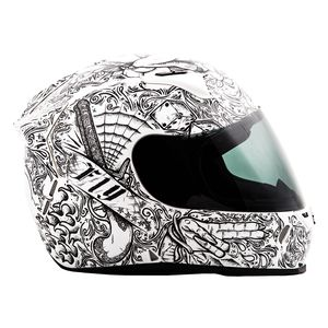 Fly Racing Street Revolt FS Ink 'N Needle Helmet