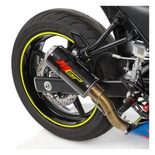 Hotbodies Racing MGP2 Slip-On Exhaust Suzuki SV650 2017