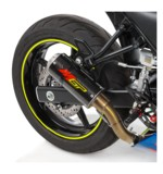 Hotbodies Racing MGP2 Slip-On Exhaust Suzuki SV650 2017